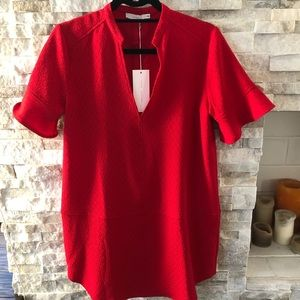LUSH Red Tunic Dress